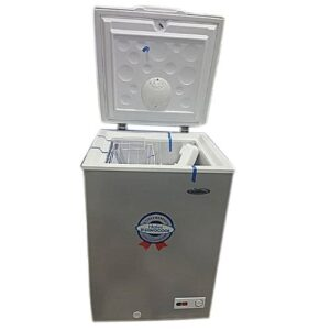 Haier Thermocool Chest Freezer HTF 100HAS R6 Silver