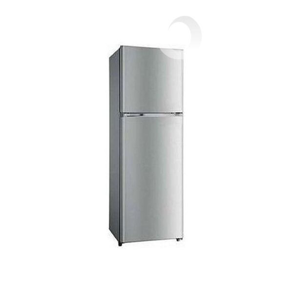 Hisense Refrigerator Double Door 302 Ltrs, No Frost , Low Noise, Environment-Friendly Tech , Model Silver 302DR