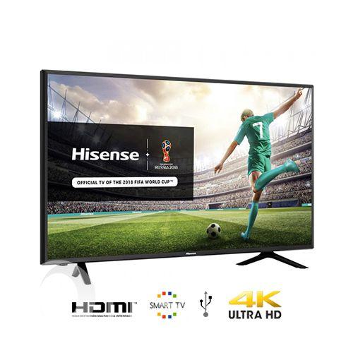 Hisense 55'' LED Smart TV, 4K UHD 4 HDMI, 2USB DIVX, AV, Model 55 B7100