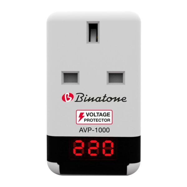 Binatone Voltage Protector 10AMP max Load 2300 Watts model AVP 1000