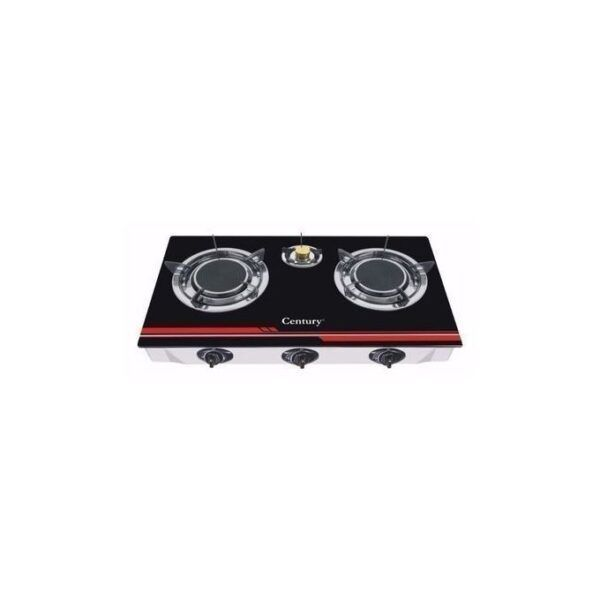 TEC Table Gas Cooker 3HOB 3 Gas Burner GLASS DELUX