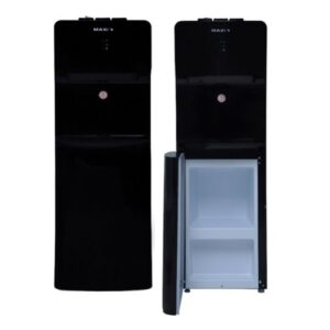 Maxi Water Dispenser, Black Color , 3 Faucets (Hot, Cold, Neutral), Cabinet model 1663S