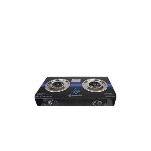 Nexus Table Gas Cooker 2 Burner Glass Top model NX-205BB