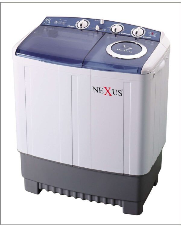 Nexus Washing Machine 7kg Twin Tub model NX-7SABI Blue