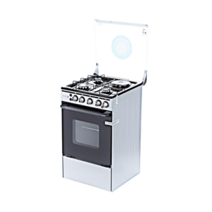 TEC Gas Cooker 3 Gas Burner + 1 Electric My Lady 503G1E Inox model OG-4531