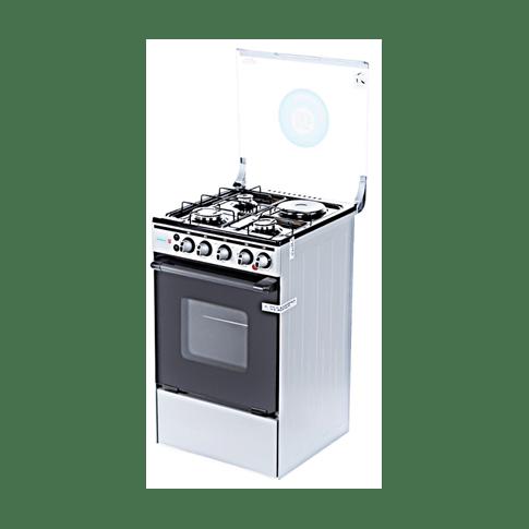 TEC Gas Cooker 3 Gas Burner + 1 Electric My Lady 503G1E Inox model OG-4531