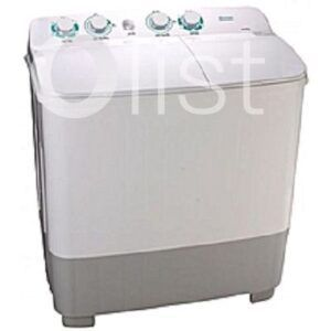 Hisense Washing Machine 10 KG , Twin Tub, Classical Design, Lint Filter ,White Color WM WSKA 101