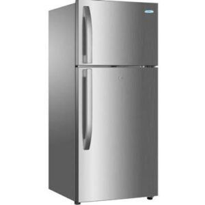 """Haier Thermocool Refrigerator Double Door model HRF 521 DS6 Silver """