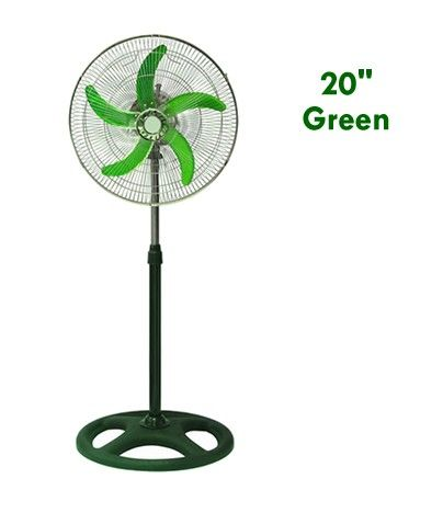 Industrial Fan 20 inches Green