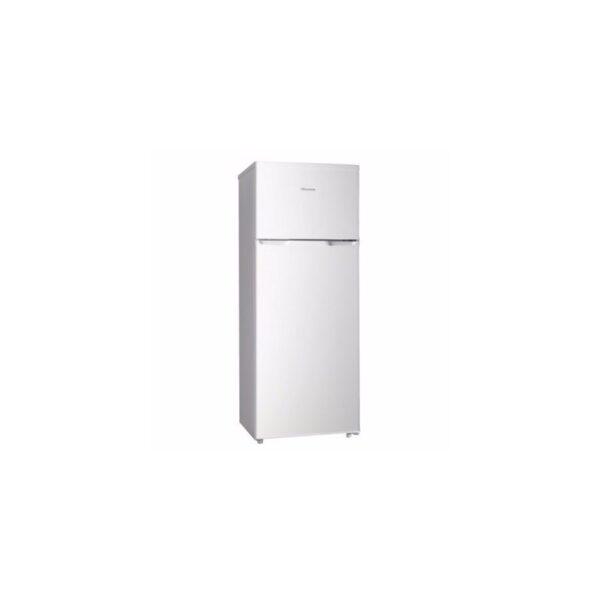 Hisense Refrigerator Double Door 215 Ltrs, No Frost , Low Noise, Environment-Friendly Tech , Model Silver 215DR